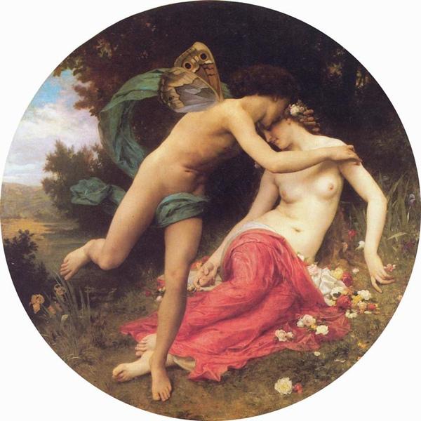 花神和西風之神Flora And Zephyr _鮑格雷奧‧阿道夫‧威廉 Adolphe William Bouguereau.jpg
