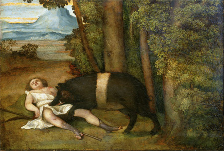 阿多尼斯之死 Tod des Adonis ca_比歐姆伯Sebastiano del Piombo.jpg