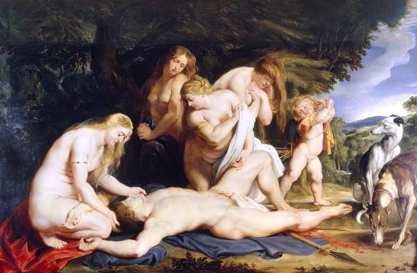 阿多尼斯之死The Death of Adonis_魯本斯Peter Paul Rubens.JPG