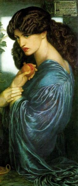 倍兒西鳳 Persephone _羅塞蒂Dante Gabriel Rossetti.jpg