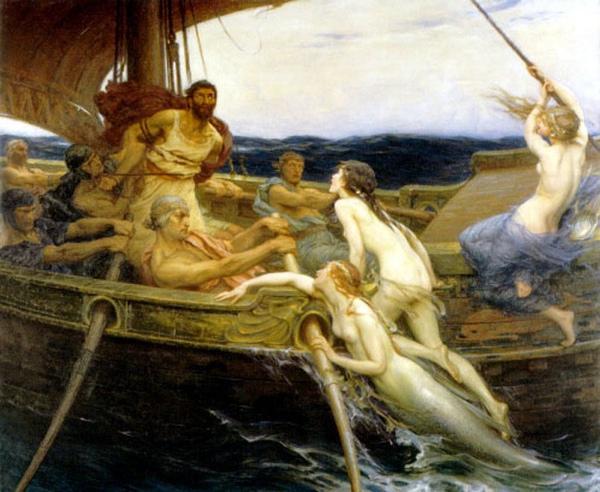 尤利西斯和塞壬Ulysses and the Sirens__德拉波‧黑爾伯特‧詹姆斯Herbert Draper.jpg