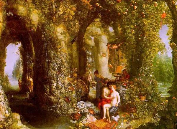 奧德修斯與卡呂普索Odysseus and Calypso_揚‧布勒哲爾Jan Brueghel the Elder  .jpg