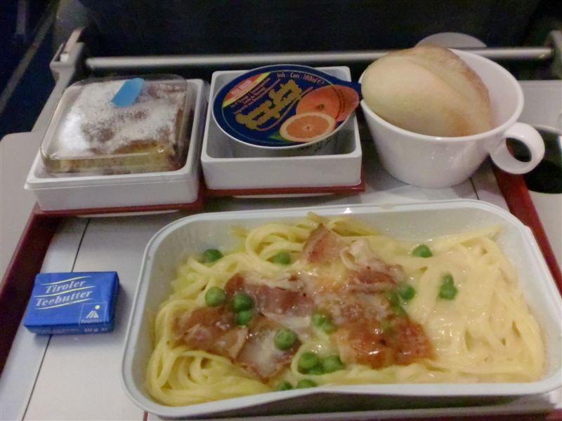 飛機第二餐 好吃