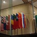 世貿中心裡頭有國旗呢.jpg