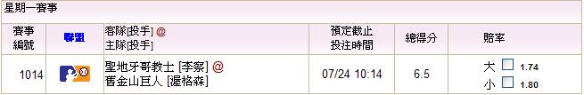 07.24教士@巨人