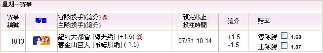 07.31大都會@巨人