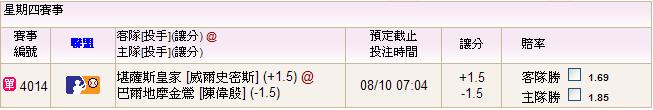 08.10皇家@金鶯