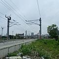 往北新竹站方向