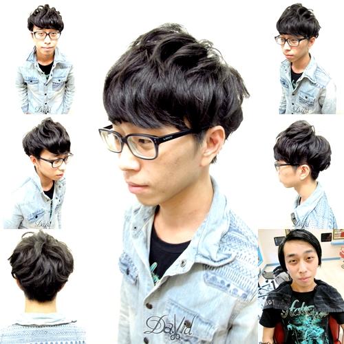 男生剪髮造型