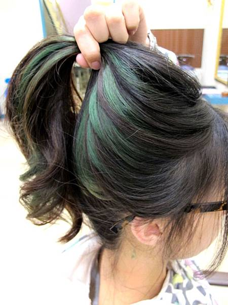 2013年 微挑髮 個性呈現