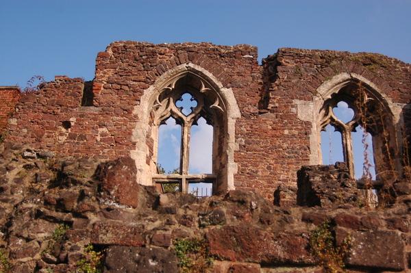 Exeter有名的斷垣殘壁
