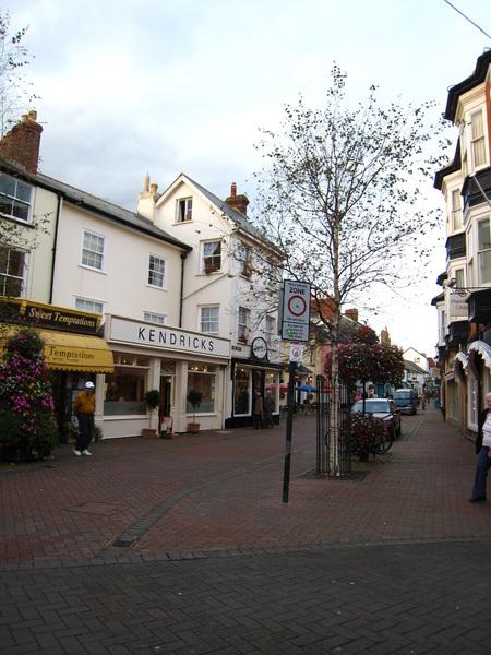 Sidmouth鎮中心