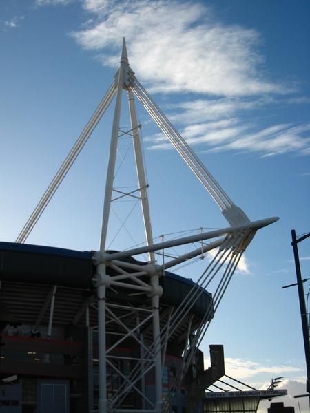 威爾斯人驕傲的千禧體育館