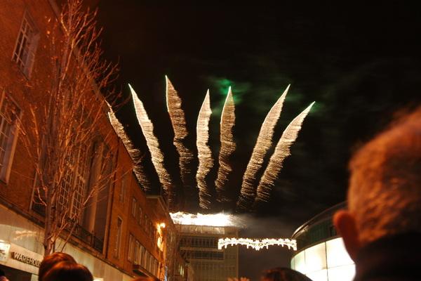 街上的聖誕點燈