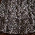 雙面麻花圍巾