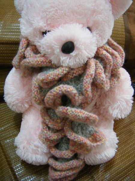 圈圈花圍巾(雙線)