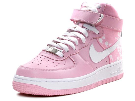 Nike Womens Air Force 1 High - Pink White 06.jpg