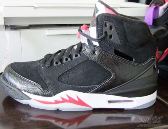 Air Jordan 60+ (Plus) - Black Red - Detail Photos 01.jpg