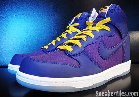 Nike Dunk High Premium 紫-黃-白 07