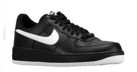 Nike Air Force 1 Low 黑白 01.JPG
