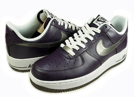 Nike Air Force 1 Women's 金屬紫 - 銀 01.jpg