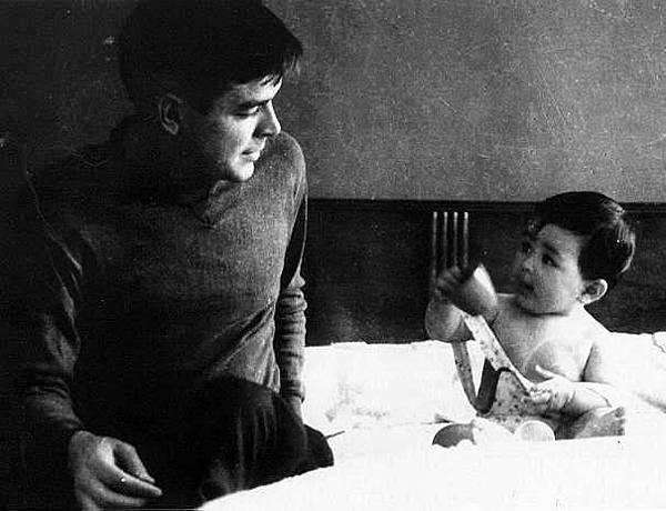 El che con su hija Hildita Mex