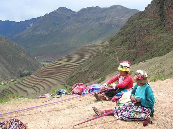 印加傳統婦女編織