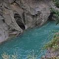 溪水神奇的腐蝕能力