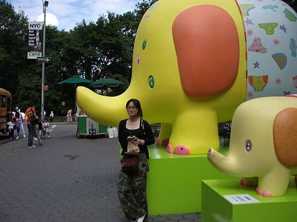 中央公園大象公共藝術
