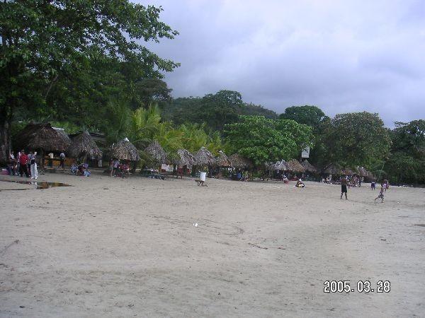 稍停留的海灘