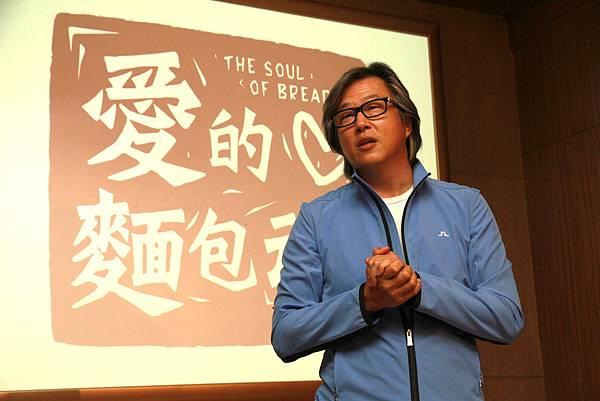 2011-11-02 《愛的麵包魂》舉 辦出席殺青酒,監製王偉忠到場。.jpg