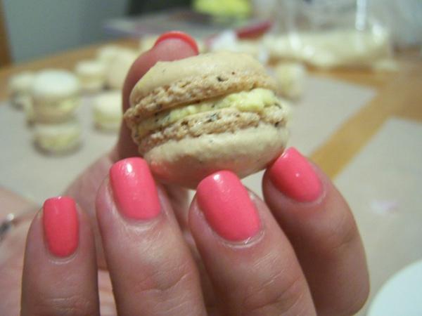 我的手跟macaron