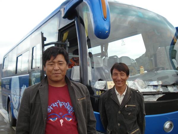 拉薩往日喀則 (1) 熱情好相處的西藏段師傅.JPG