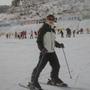 好友阿嘎示範怎麼樣不會滑雪也可以拍的美美的