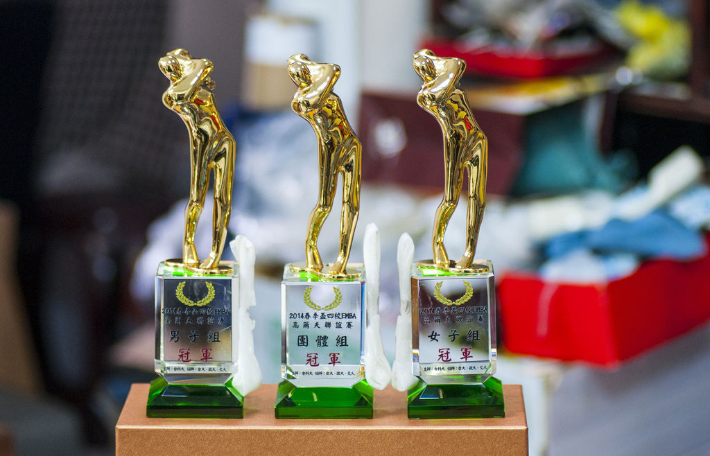 高爾夫水晶獎座