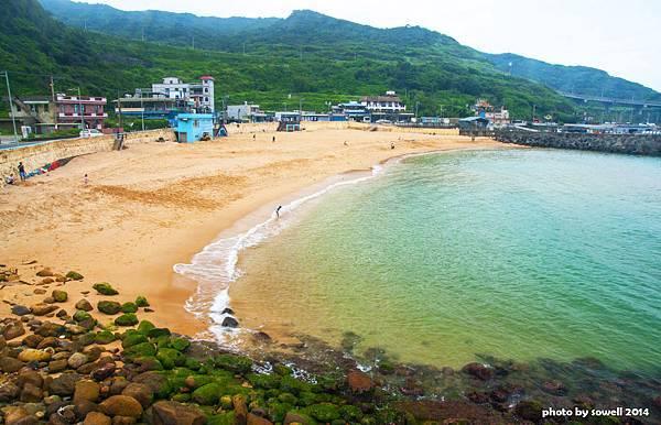 大武崙海灘之美
