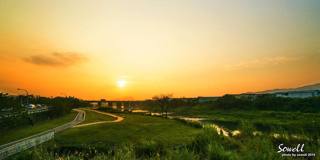 三峽橫溪黃昏