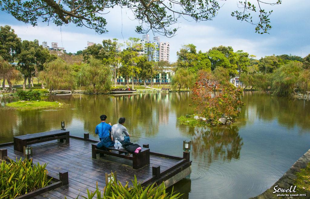 大湖公園垂釣