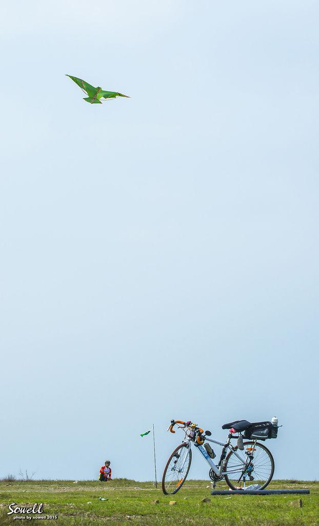 長潭里放風箏