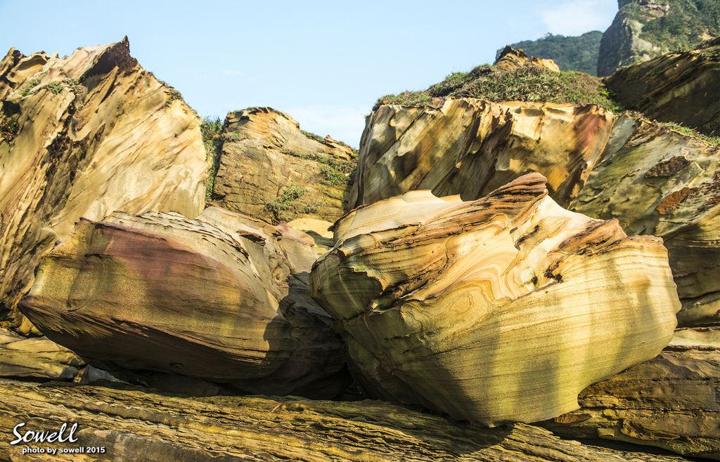 海蝕風化岩