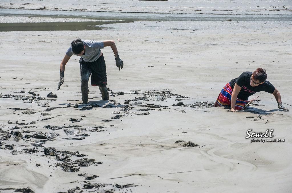 深陷淤積爛泥的同學