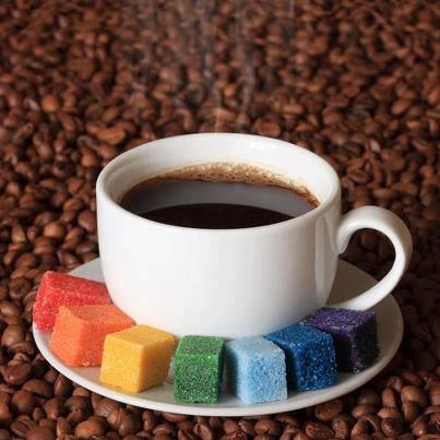 七色糖咖啡