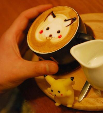 皮卡丘咖啡
