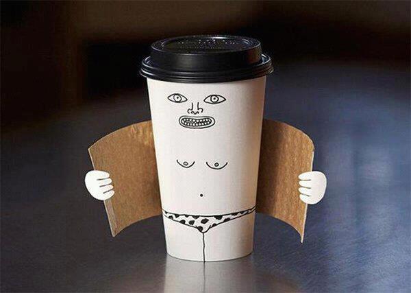 有趣的咖啡杯造型