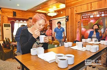 國姓咖啡季 推廣在地咖啡