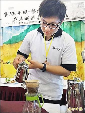 台南囝仔研發 糙米咖啡飄香