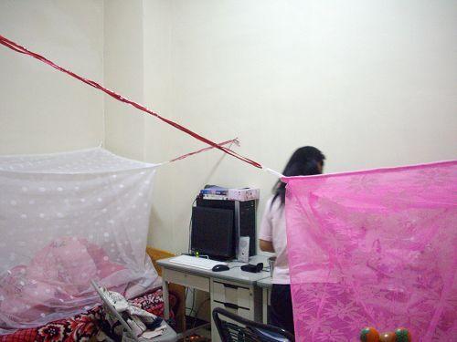 蚊帳與阿娟