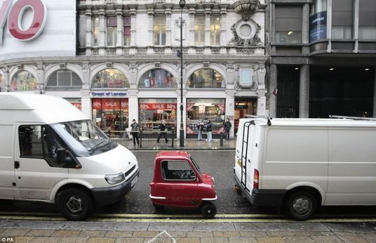 全世界最小的車01
