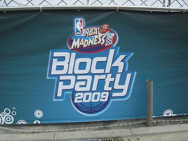 NBA Madness Block Party