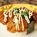 炸牡蠣天婦羅壽司